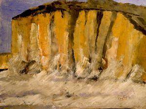 La falaise prise d'assaut