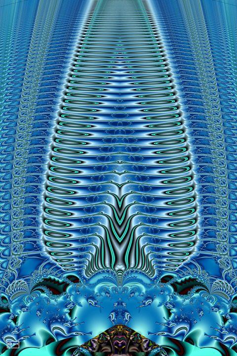 Blue Plume - Pavelle Fine Art