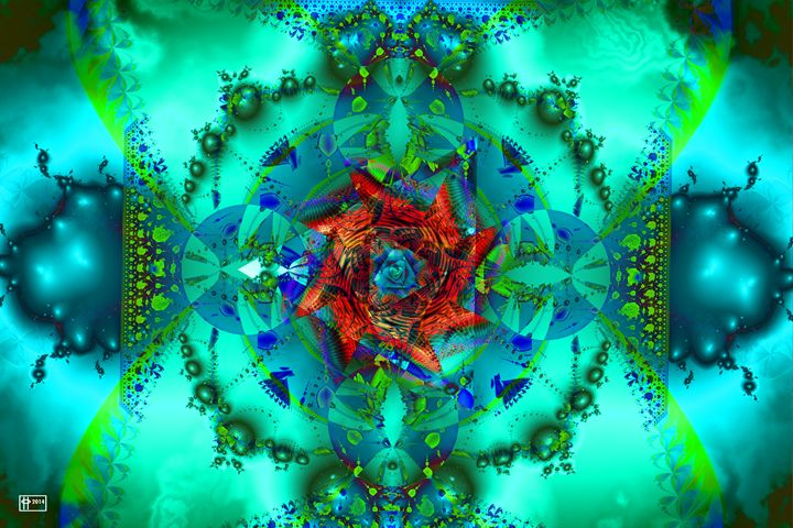 Atomic 9'oclock - Pavelle Fine Art