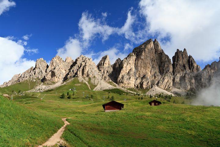 Dolomiti Cir mount from Gardena pass - Antonio-S