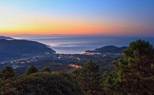 sunrise in Elba island