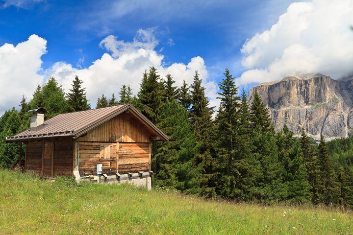 barn on Alpine pasture - Antonio-S