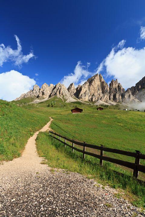 path in Gardena pass - Antonio-S