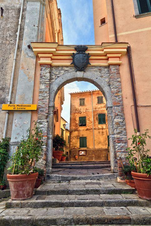 Marciana - ancient gate - Antonio-S