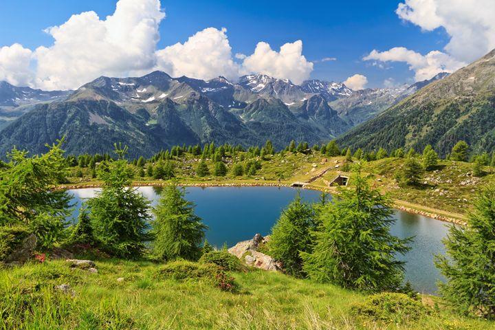 Doss dei Gembri lake in Pejo Valley - Antonio-S