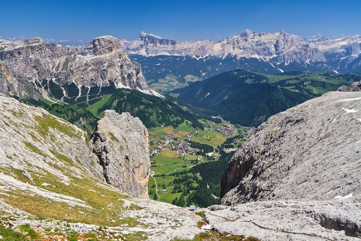 Dolomiti - Val Badia aerial view - Antonio-S