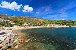 Elba island - beach in Seccheto