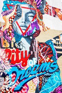 Big City Dreams-Tristan Eaton Mural