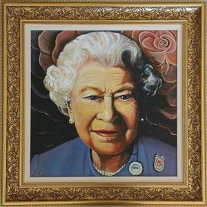 """The English Rose"" Queen Elizabeth 2"