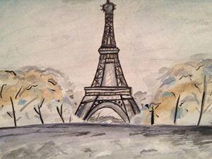 Paris Watercolour