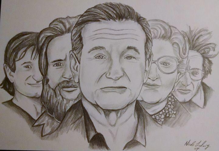 Robin Williams - Ludwig's Fine Art