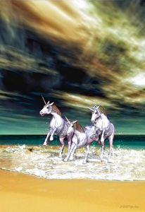 Unicorn Dreams - Digital Art