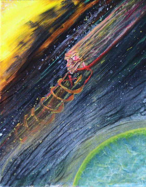 Dream Chute - StardustFractal Art