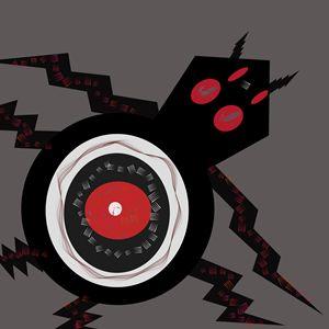 Black eye spider
