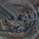digital abstract art photo print