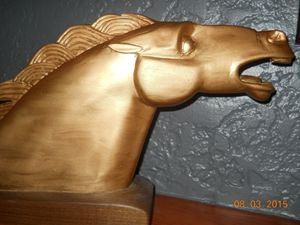 art deco horse - RSPeck