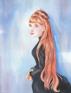 Portrait of Mademoiselle Alice Gueri