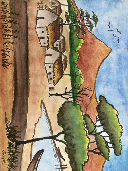 Village Landscape - Swagat's Leisure Place