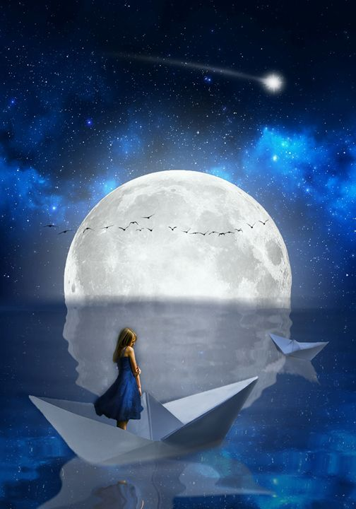 Dreaming In The Sky - Miguelitos Art