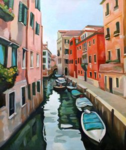 Venetian Cityscape - Filip