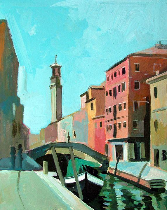 Bridge in Venice - Filip