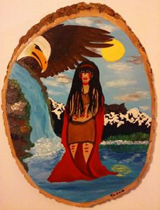 Alaska native water girl