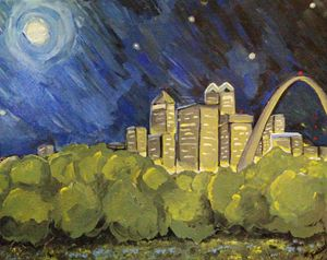 Starry Night over St. Louis