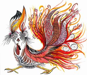 Dreamy Rooster