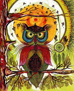 Boho Owl