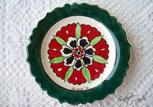 Ceramic delight plate