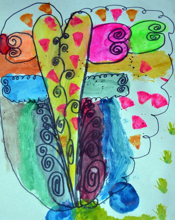 """""""Heart Butterfly"""" - C. Fay Fine Art"""
