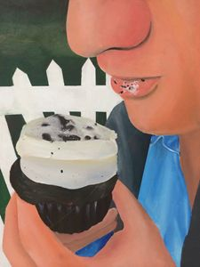 pleasing cupcake