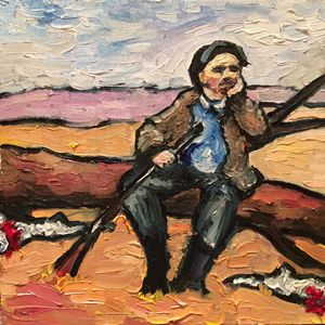 Lenin and the dead hares