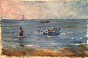 Fishermen in Veracruz