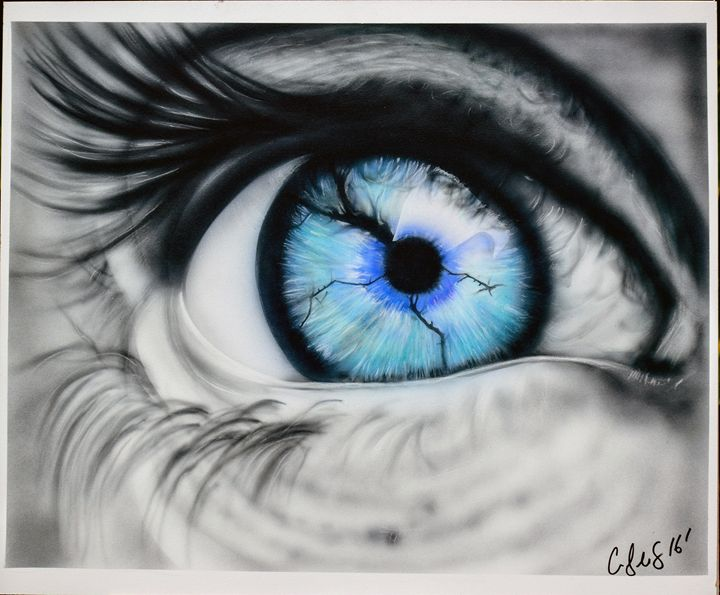 Fine art, eye art - Cody LeBouef