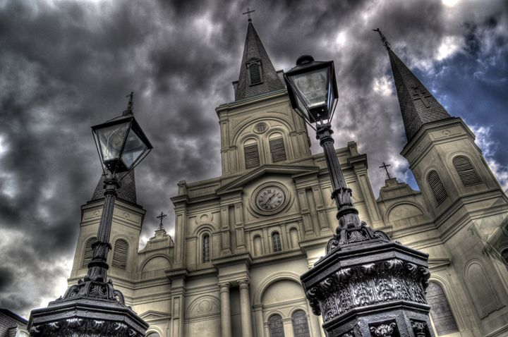 Saint Louis Cathedral - Caldwell Gallery