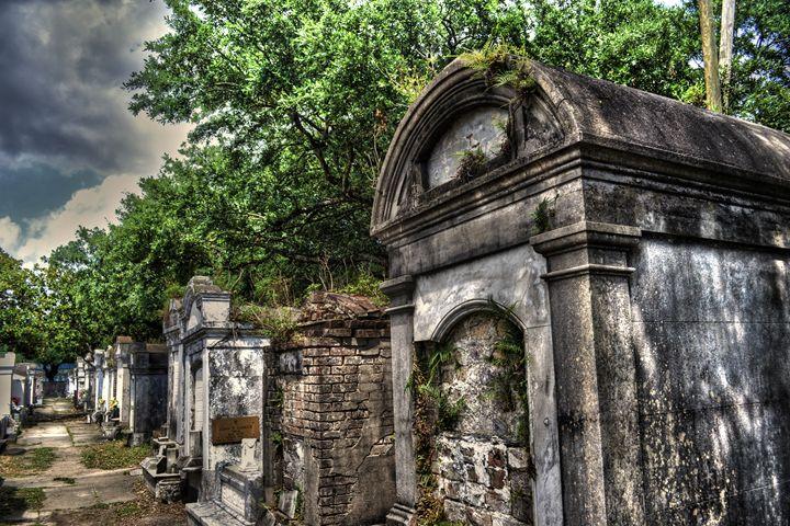 Layfayette Graveyard in New Orleans - Caldwell Gallery
