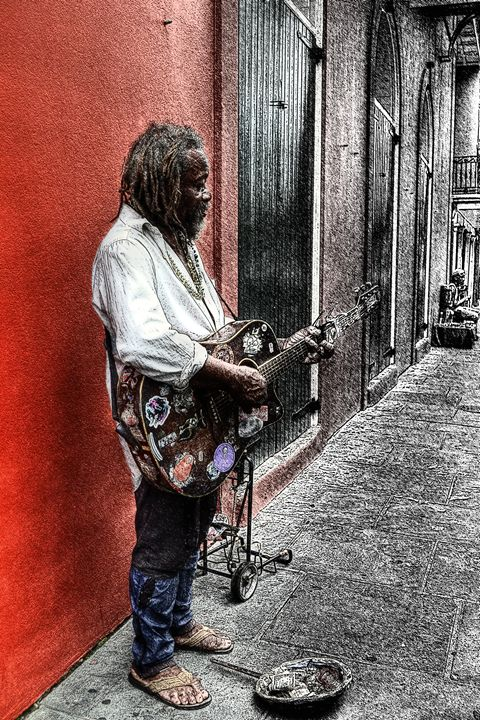 Lonely Street of Blues - Caldwell Gallery