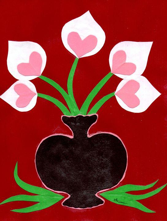 Flowers of the Heart - Lavaun Heaster's Art