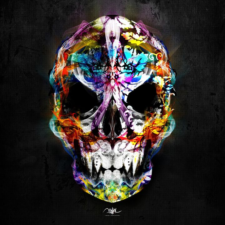 Skull Colors - Mizal Touch Concept