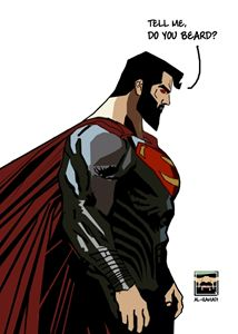SUPERMAN BEARDED