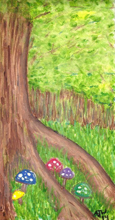 Foot of the tree - AJ Worley