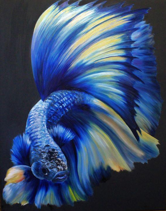 Blue Betta - Michael A. Davis