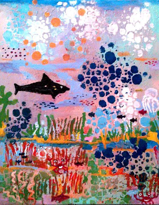 LONE SHARK - Gregory McLaughlin - Artist