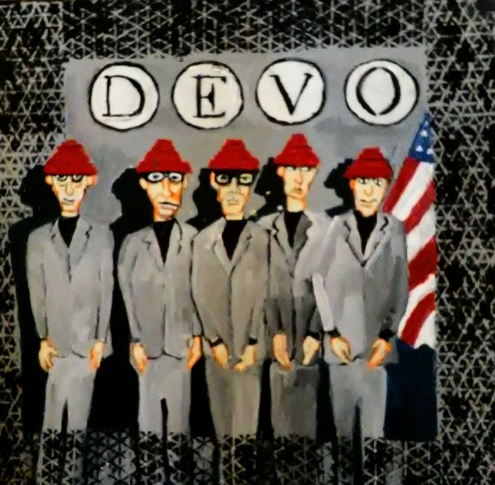 DEVO - Gregory McLaughlin - Artist