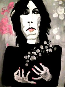 PATTI SMITH original painting