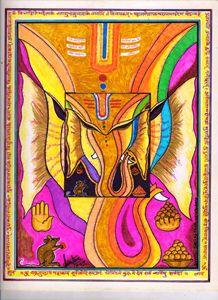 Lord Ganesha - Abstract