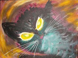 REMBRANDT CAT HEAD