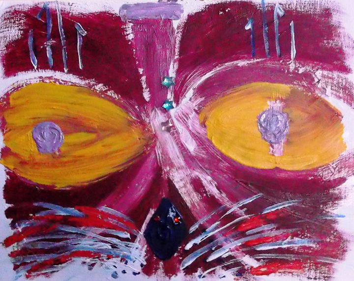 BHINDI ROUGE - ART BY LES