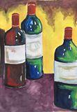 wine, red, bottle, drink, bar, pub,